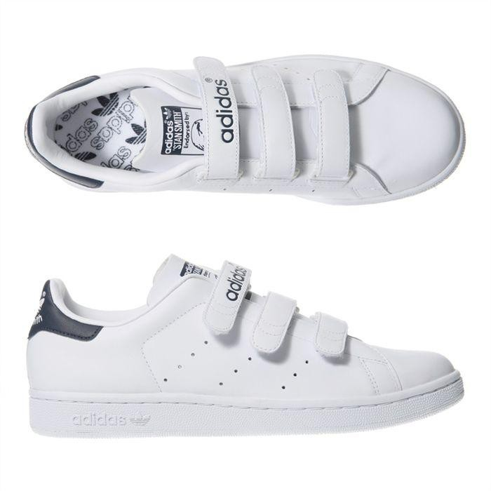 adidas stan smith scratch femme blanche